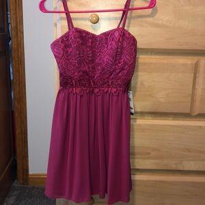 Pink Macy's Dress